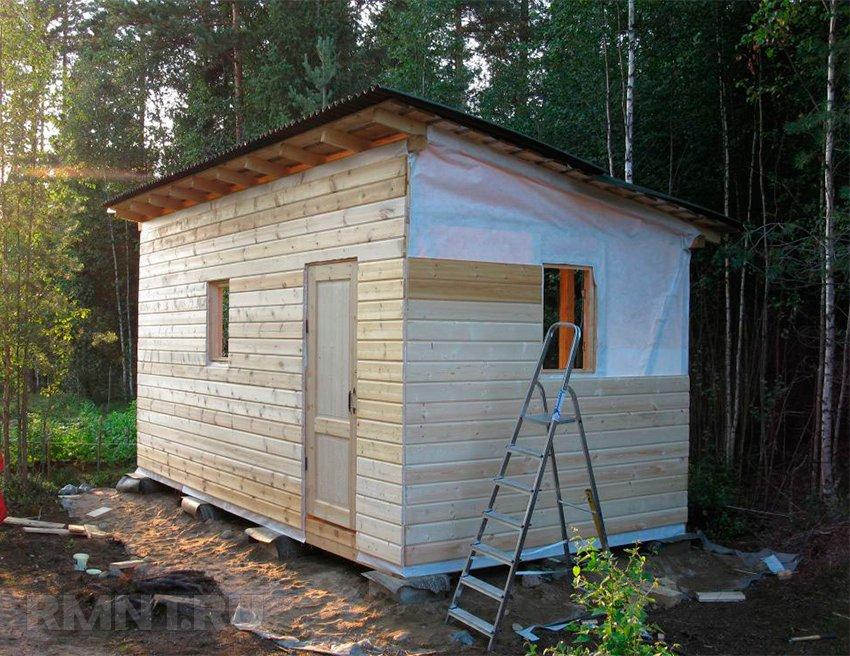 Хозблок с туалетом для дачи: как построить совмещенный сарай своими руками